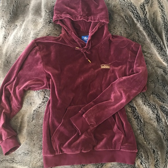 low price sale official photos huge selection of Adidas Velour Hoodie